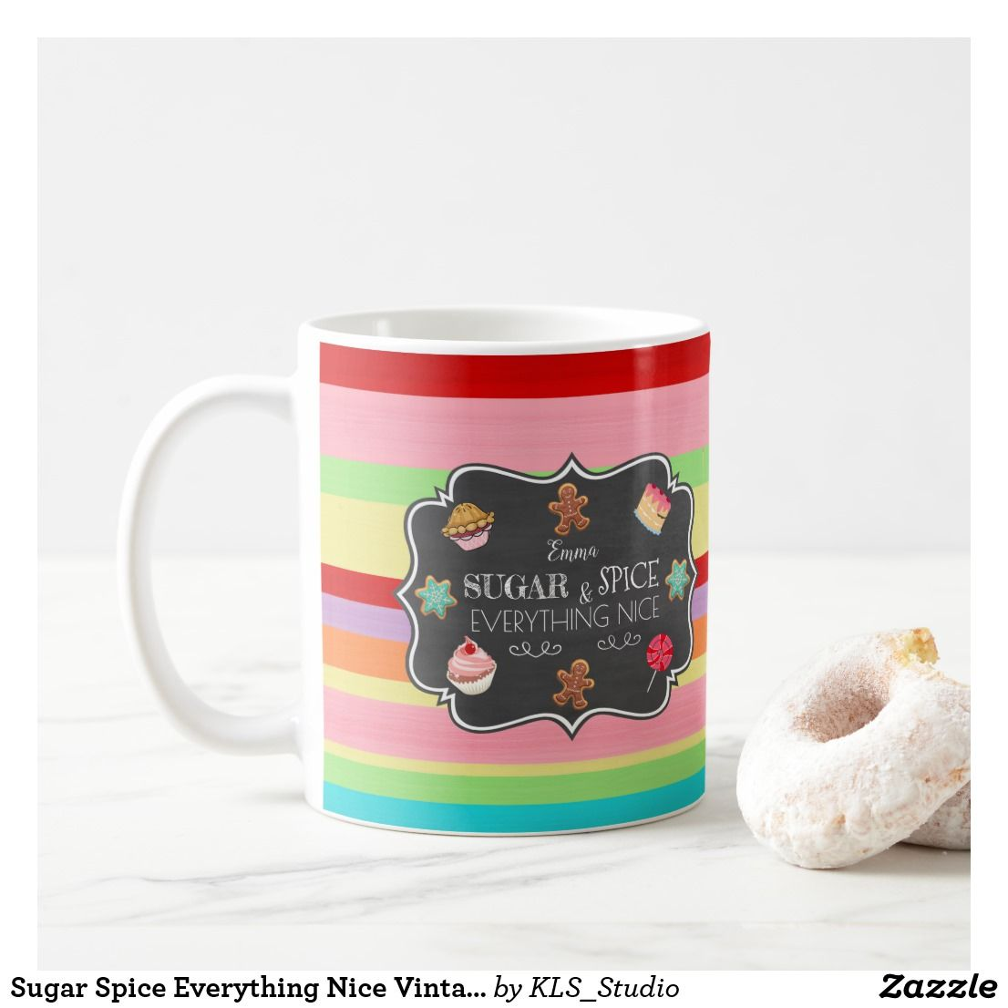 Where To Buy Nice Coffee Mugs Sugar Spice Everything Nice Vintage Candy Shop Coffee Mug Cute