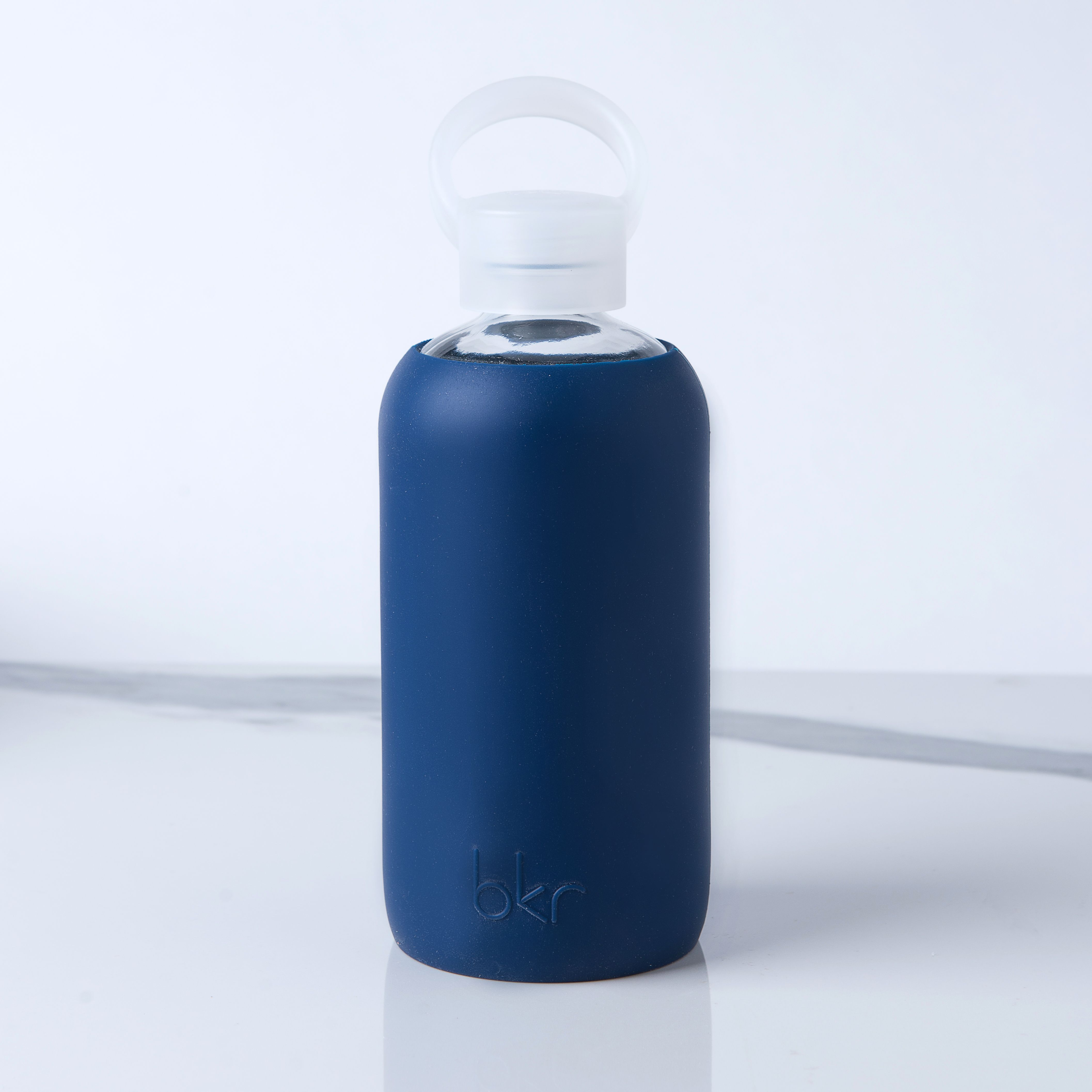 27ab0a2b44 bkr - Fifth Avenue 500 ML Water Bottle This deep blue, reusable bottle is  made