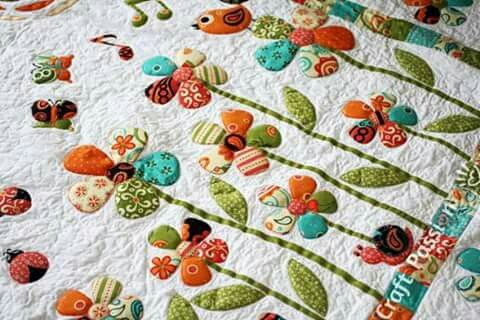 Pin by carol reay on appliqué or embroidery flowers applique
