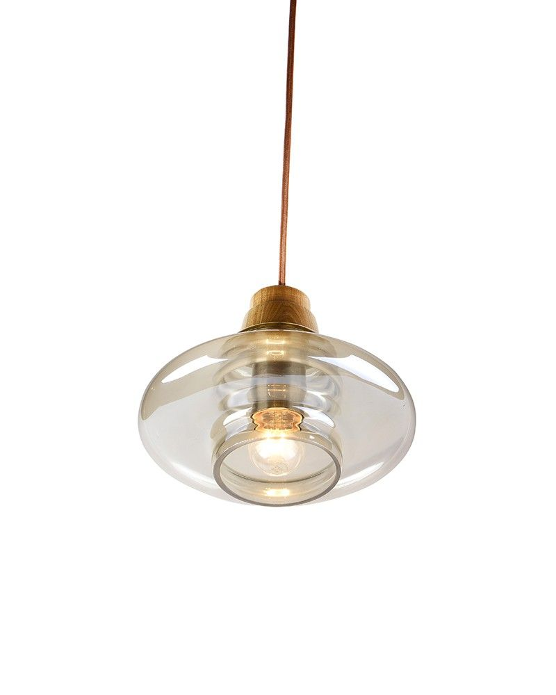 Clear Vase Shade Contemporary Style Indoor Home Lighting Pendant is handsome, stylish designed, warm allure suitable for living rooms, kitchens, dining rooms and   entryways. Its smooth, subtle looking is just great for a number of interior design schemes. Unique wooden   pendant lamp not just provides you warm lights, but also decorates your house stylish.