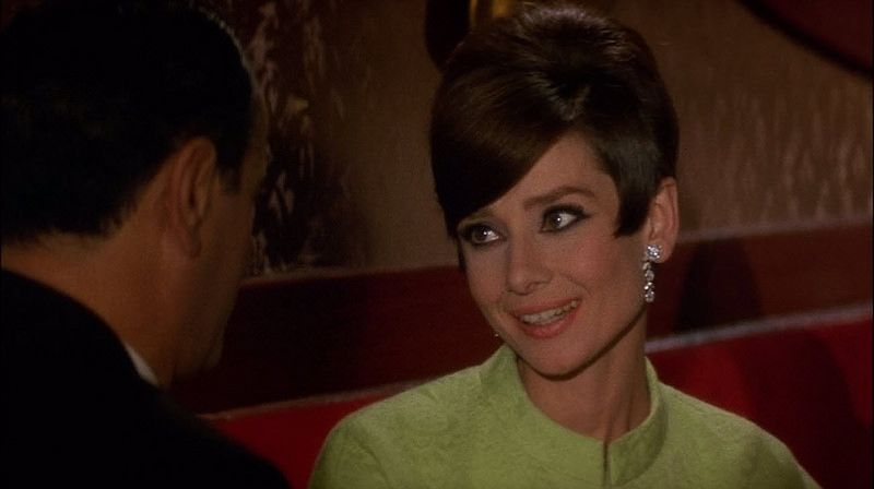 """Peter O'Toole, Audrey Hepburn, """"How to Steal a Million"""" (1966)  Screen capture of 1966 romantic comedy, """"How to Steal a Million,"""" starring Belgium-born British actress Audrey Hepburn (May 4, 1929 - January 20, 1993), London-born actor Peter O'Toole (August 2, 1932 - December 14, 2013), and Oscar-winning Welsh actor Hugh Griffith (May 30, 1912 - May 14, 1980)."""