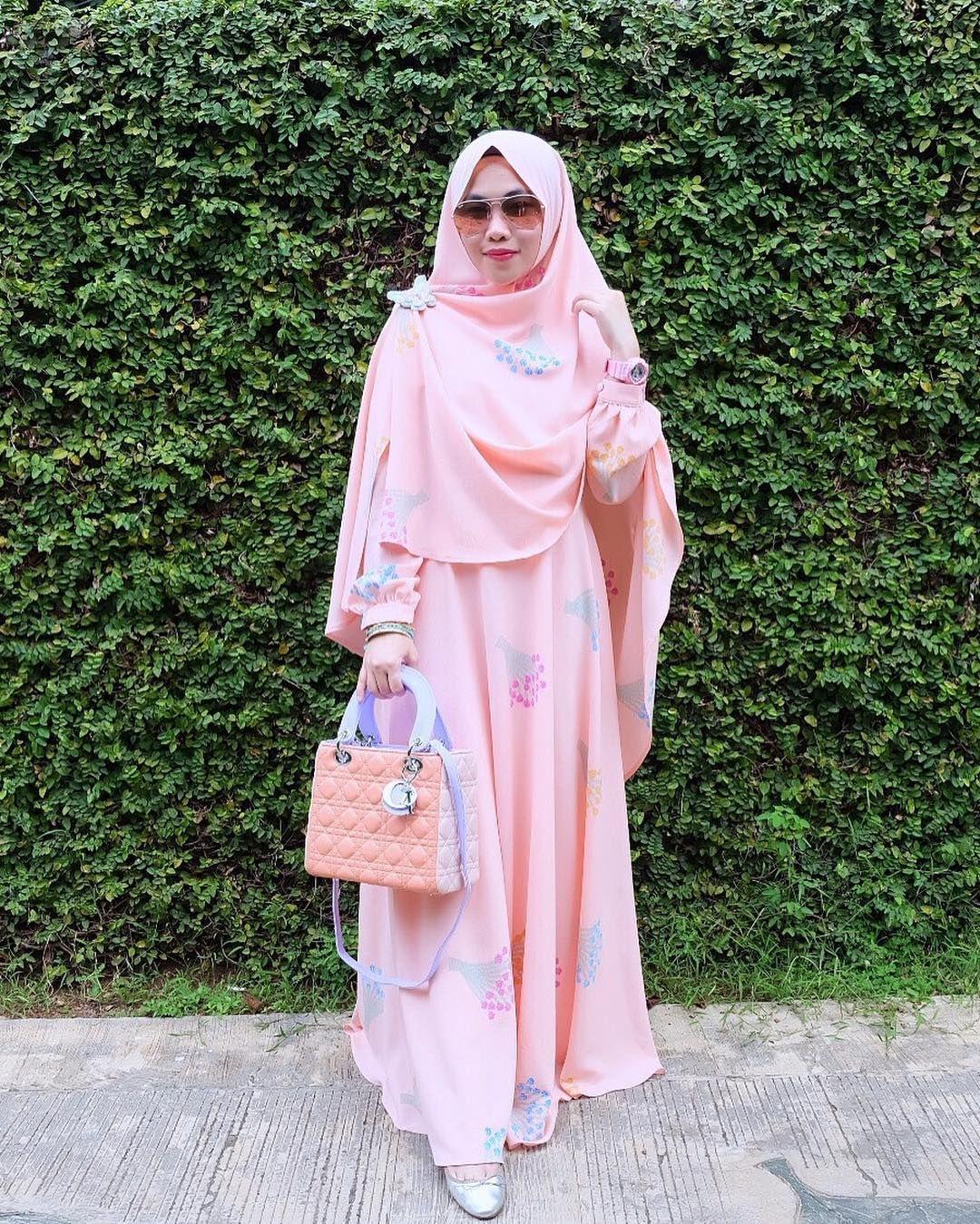 Model Baju Hijab Syari Gamis In 2018 Pinterest Jilbab 3layer Ori Terbaru Beautiful Muslim
