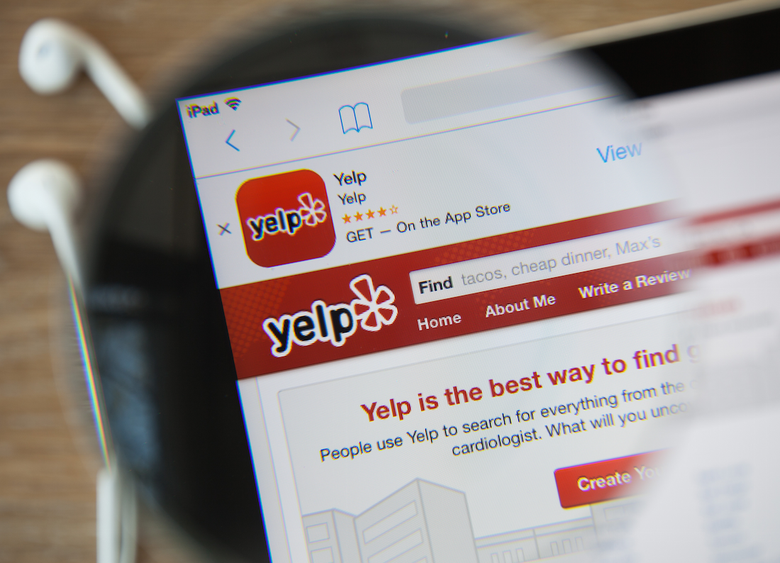 A Palo Alto company is trying to sue anonymous Yelp trolls