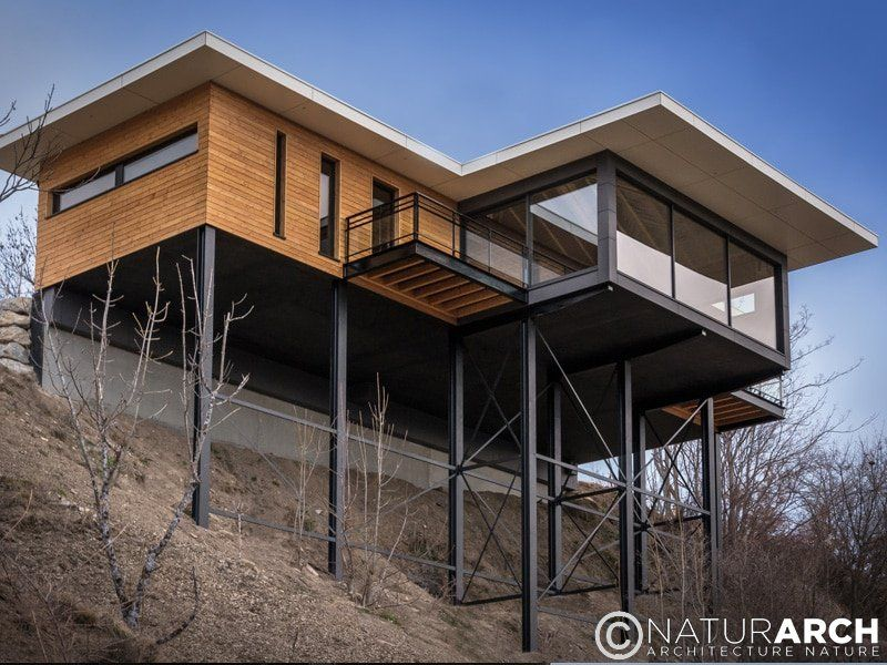 Maison sur pilotis Architecture Pinterest Architecture, Diy