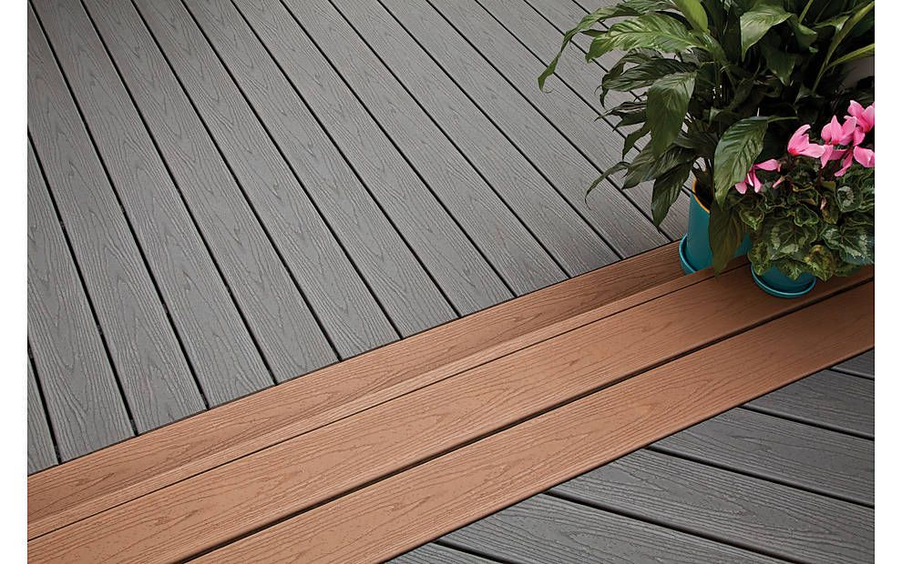 A Wrap Around Deck Makeover Featuring Enhance 174 In Clam