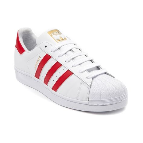 Kick it with the classic Superstar Athletic Shoe from adidas! Lace up the signature style and comfort of the Superstar Athletic Shoe, sporting durable leather uppers with iconic rubber shell toe, and iconic adidas side stripes. <b>Available for shipment in June; Pre-order yours today!</b>  <br><br><u>Features include</u>:<br> > Smooth leather upper with breathable mesh lining<br> > Padded collar for comfort<br> > Lace closure for a secure fit<br> > Signature side stripes<br> > Classic…