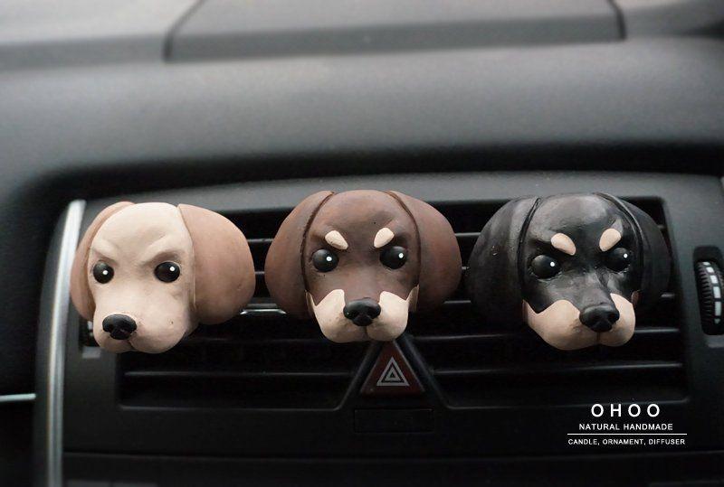 Dachshund Car Air Freshener Sausage Dog Car Accessories Car