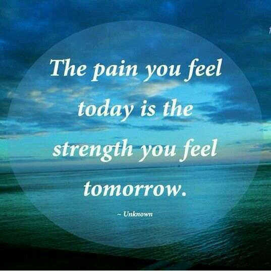 Pain and strength