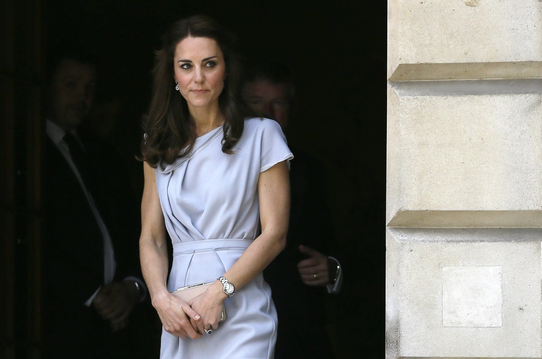 In May, the Duchess of Cambridge made a gorgeous appearance at a charity lunch reception in London.