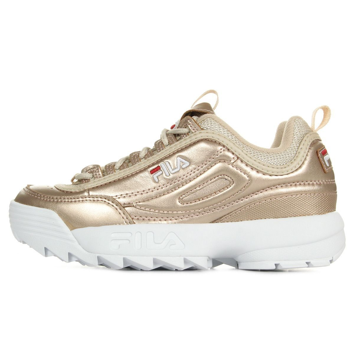 info for e899c 69cbe Basket Femme Fila Disruptor Mm Gold - Taille   36 37 38 39 40 41