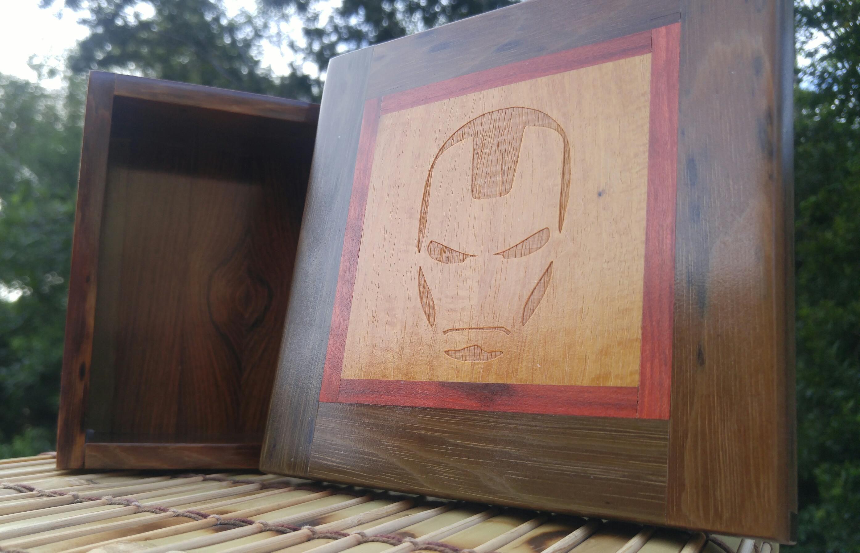 Ironman Box, Bloodwood & Surinamese Ironwood