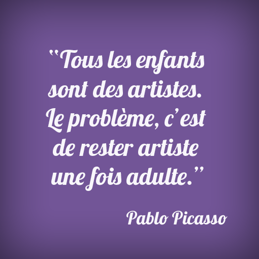 #citation #picasso #kids