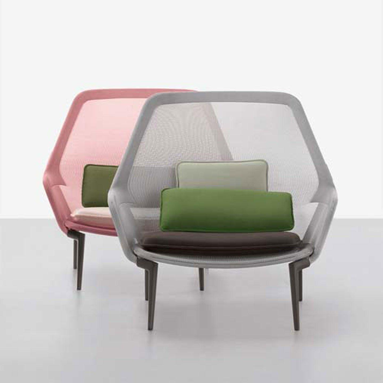 Innovativer Sessel In Außergewöhnlichen Farben. Vitra Slow Chair Ab 2219 U20ac,  Jetzt Mit 0 U20ac Versand, Skonto Bei Smow.de Bestellen!