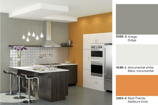 Best friends in a Contemporary style #kitchen Les meilleurs amis