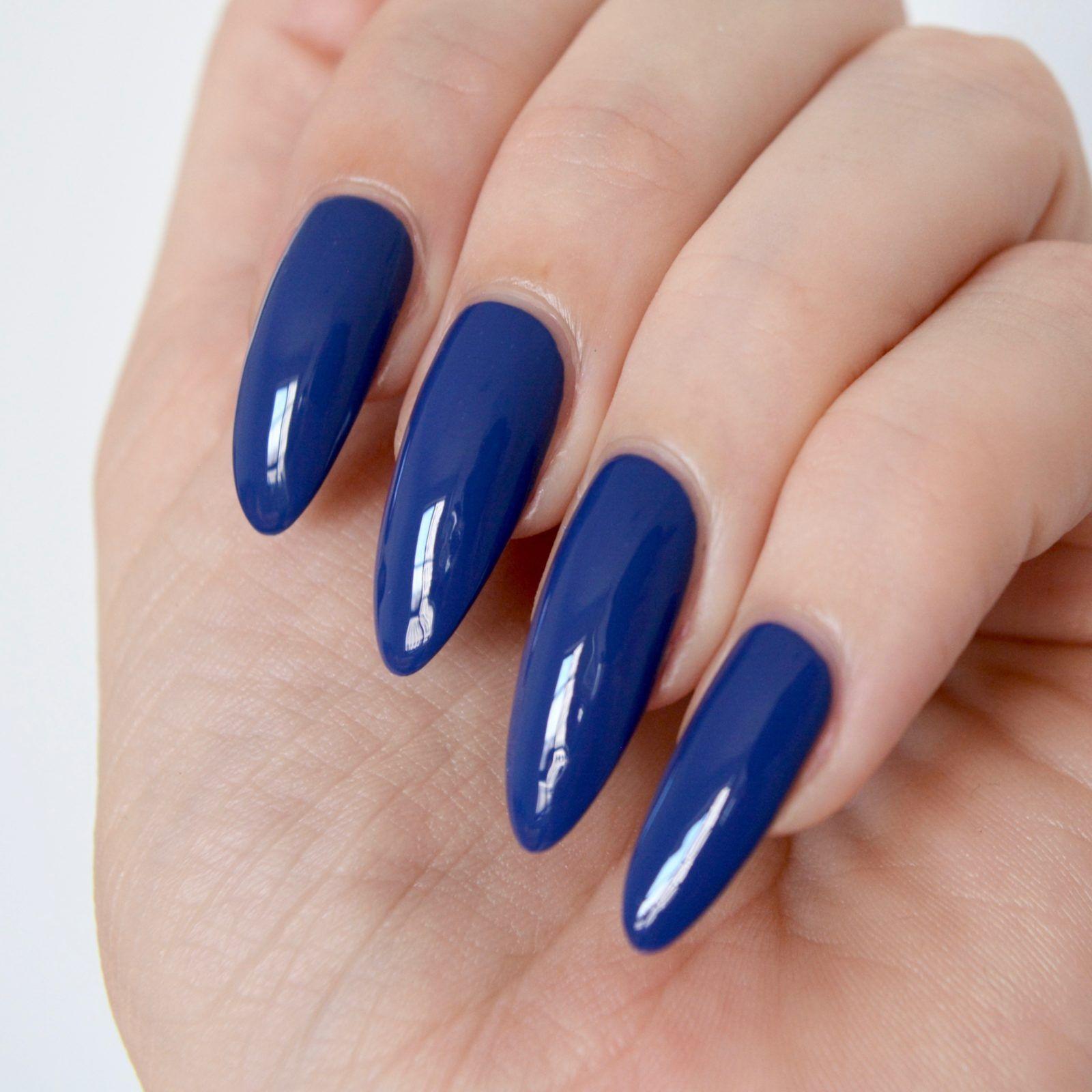essie Spring 2017 \'all the wave\' - rich sapphire blue nail polish ...