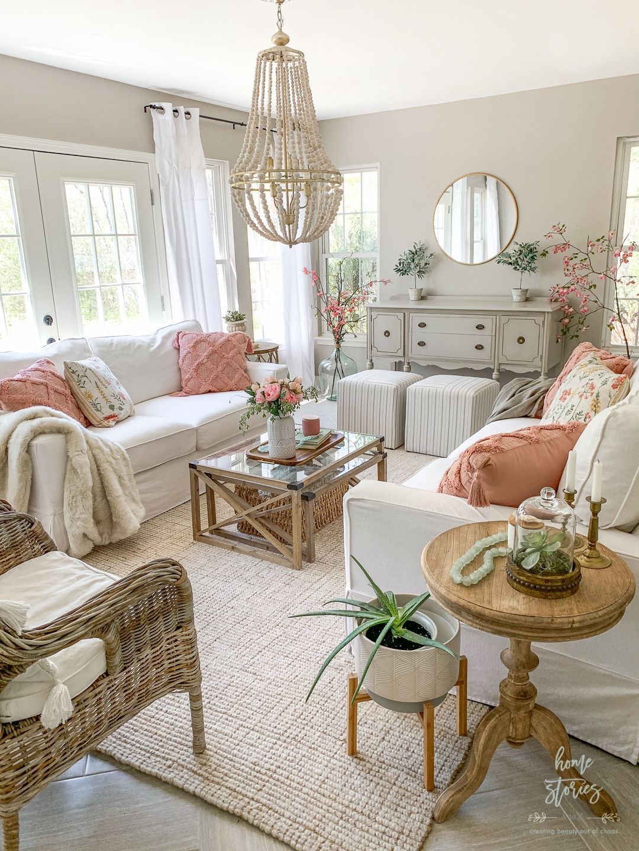 Affordable Cottagecore Home Decor Accessories In 2021 Spring Living Room Decor Spring Living Room Living Room Decor