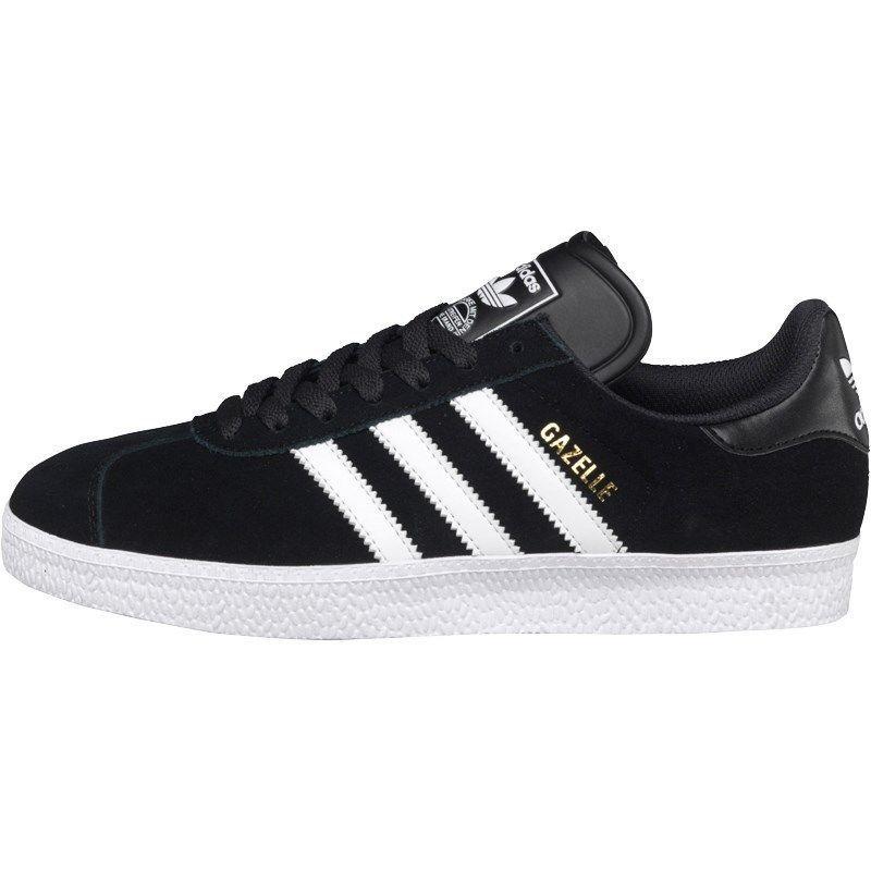 cheap for discount d1b6b cbf69 Adidas Originals Mens Gazelle 2 Trainers Black White UK Sizes 8 - 11