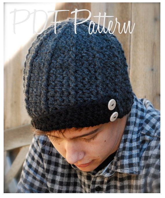 Crochet PATTERNThe Aldan Cap Toddler Child Adult por Thevelvetacorn ...