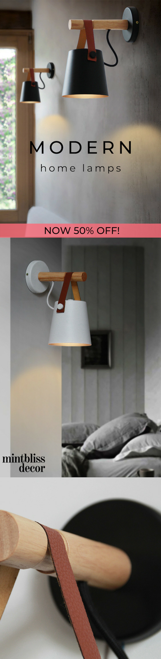 Are you looking for a modern and edgy wall light to