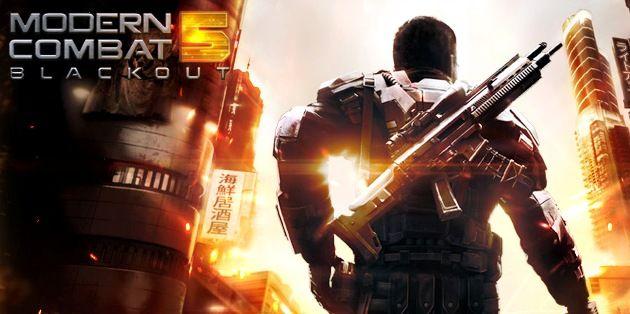 Download Modern Combat 5 Blackout V2 0 1b Apk Full Obb Mod Money For Android Combat Download Hacks Android Mobile Games