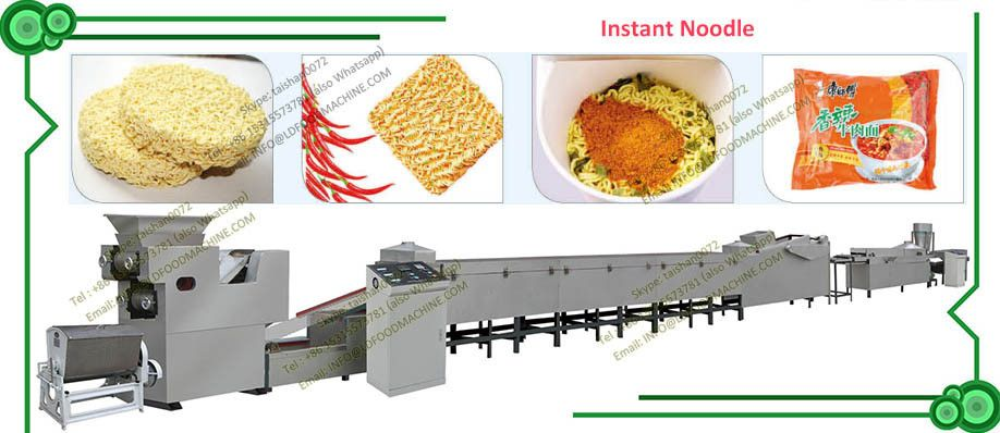 Chinese Supplier Malaysia Instant Noodle Making Machine | instant