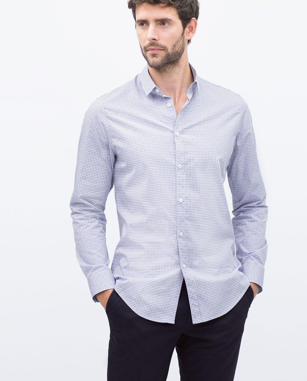 Zara Clothing Men Shirts
