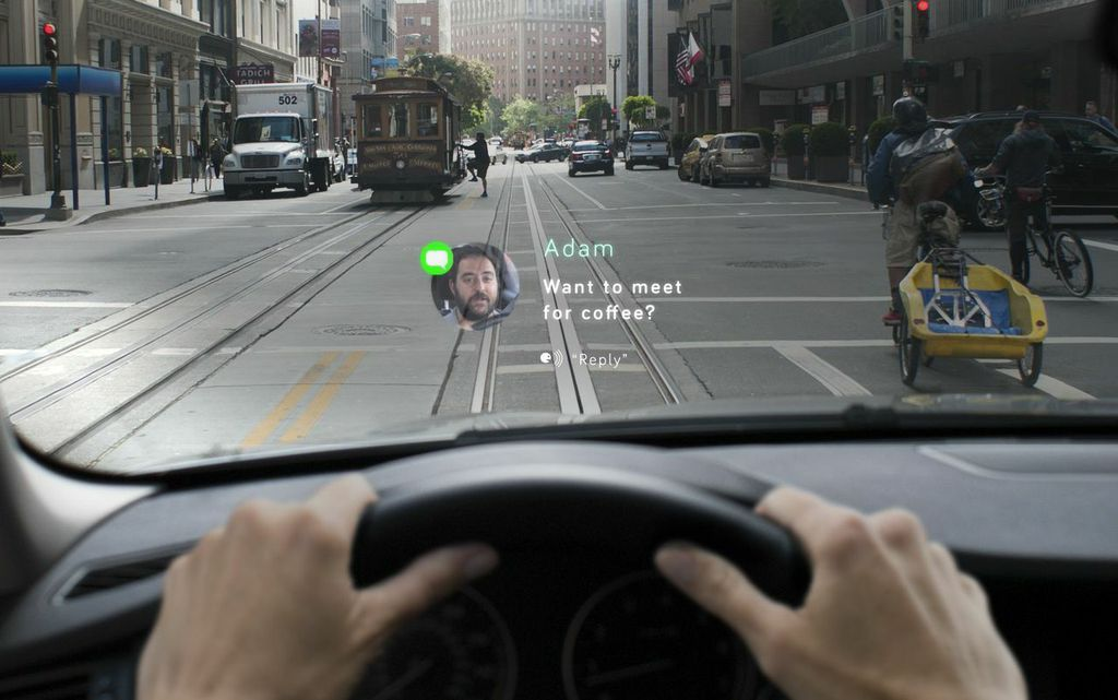Pilot Your Car with Navdy Heads Up Display Head up