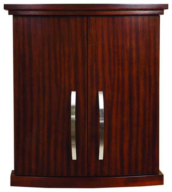Mahogany Bathroom Wall Cabinet