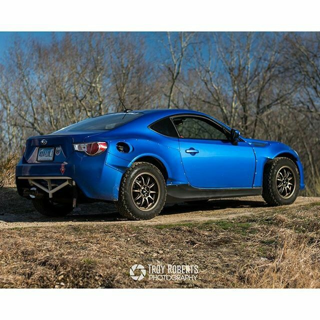 Brz Frs Rally Offroad Tires And Fender Flares