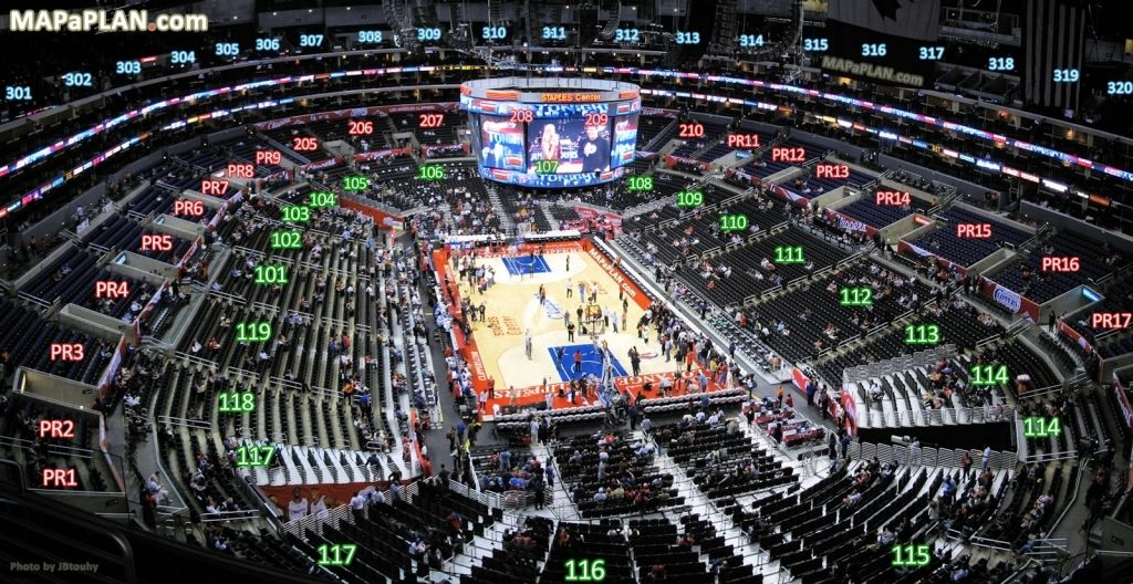 Staples Seating Chart Concert Staples Center Concert Seating Charts Staples Center