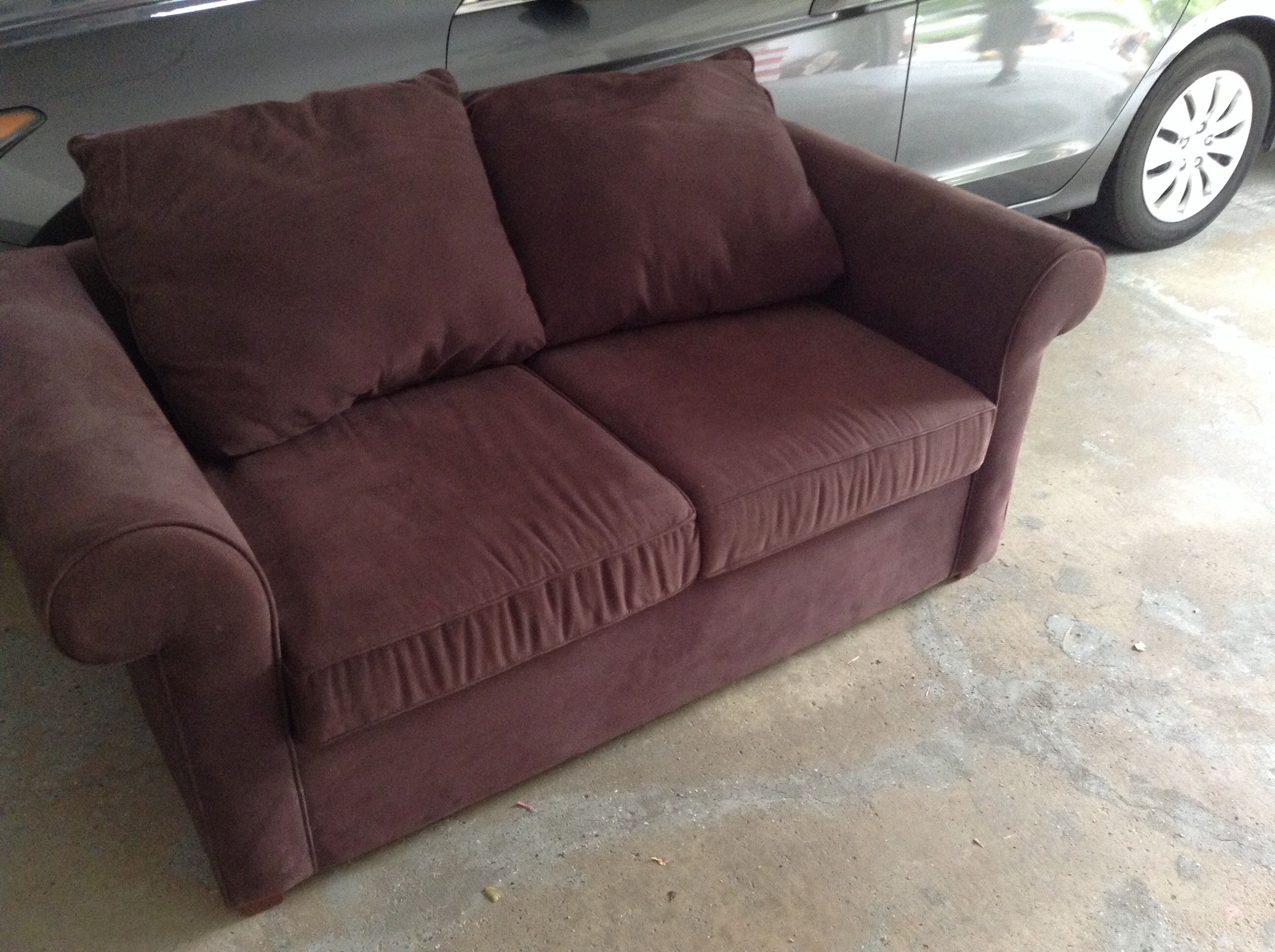 4 brown sofa couch in Grogan s Garage Sale in Eagan MN for 4