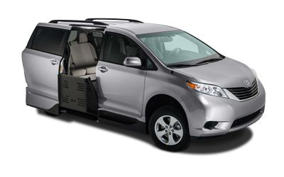 Toyota Sienna Summit Access360 Wheelchair Van Vantage Mobility