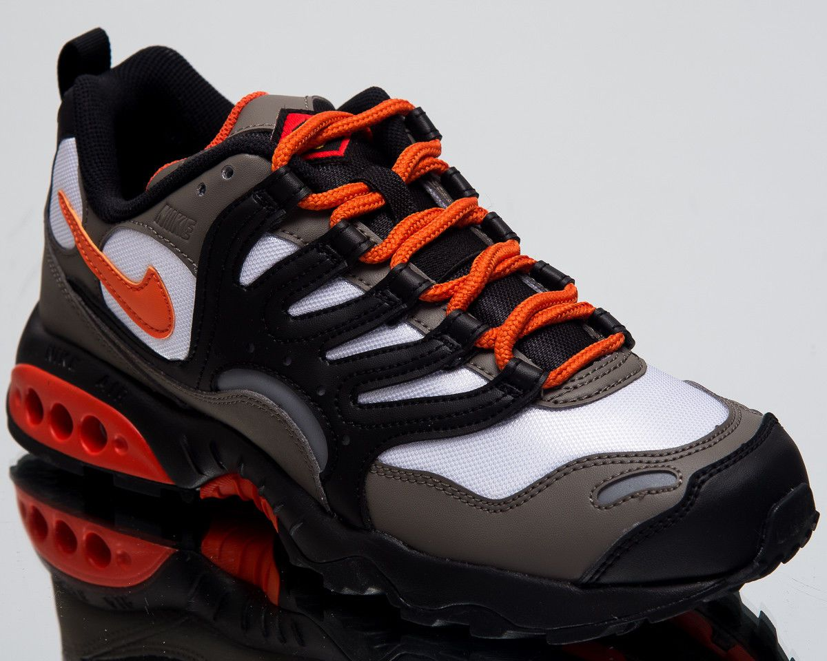 21d73617 Nike Air Terra Humara '18 Lifestyle Shoes Olive Grey Orange Sneakers ...