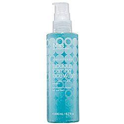 Bliss - Fabulous Foaming Face Wash #sephora In LoVe | Beauty ...