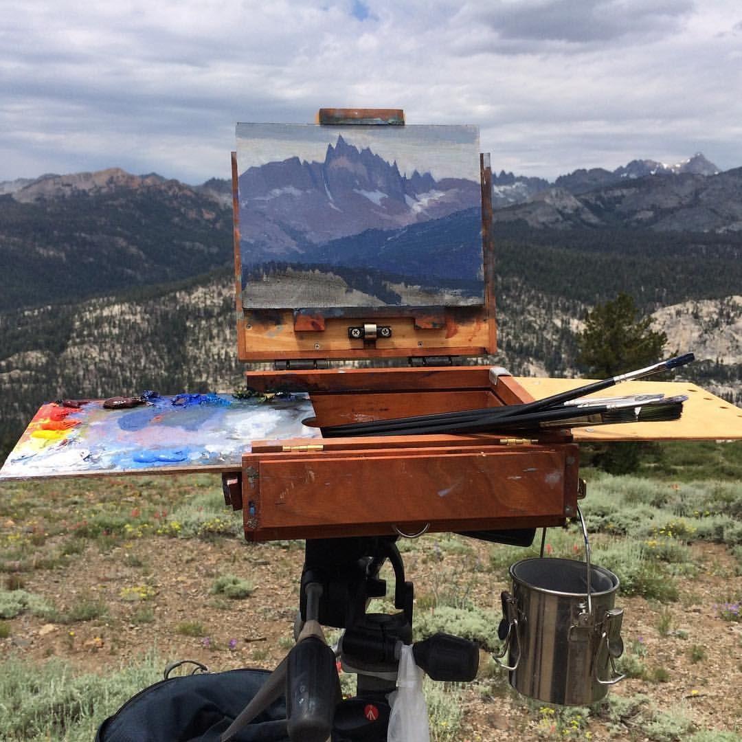 Lipking plein air Landscape paintings, En plein air