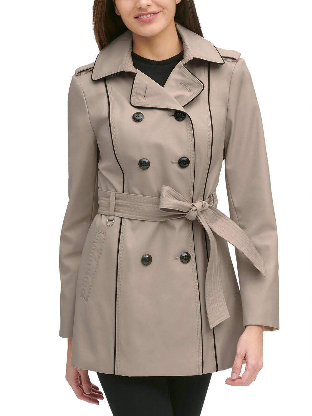 Bonded Trench Coat Wilsons Leather Coat Trench Coat Leather Coat