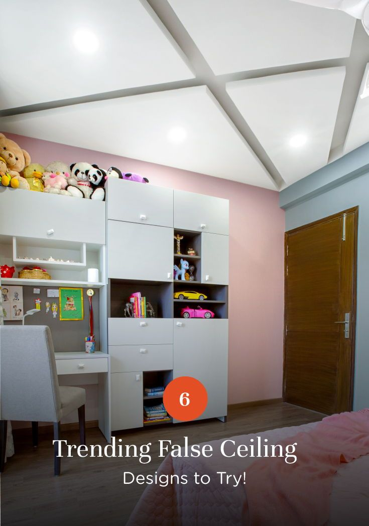 Kids Room False Ceiling Design: Bye, Bye, Boring Ceilings!