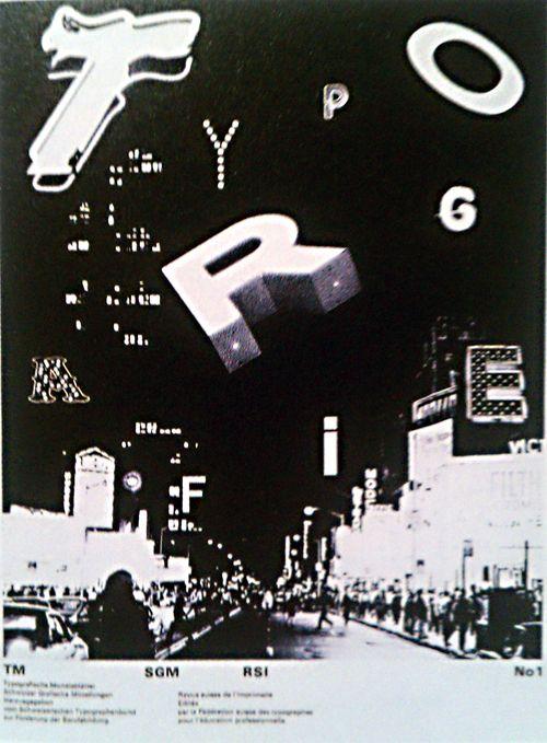 Dan friedman typografische monatsbl tter 1971 posters for Praktikum grafikdesign frankfurt