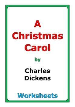 "Charles Dickens ""A Christmas Carol"" worksheets | Christmas carol, Comprehension questions ..."