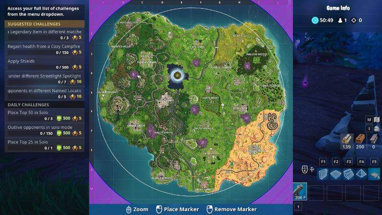 Where To Find Shadow Stones In Season 6 Fortnite Fortnite Shadow New Shadow
