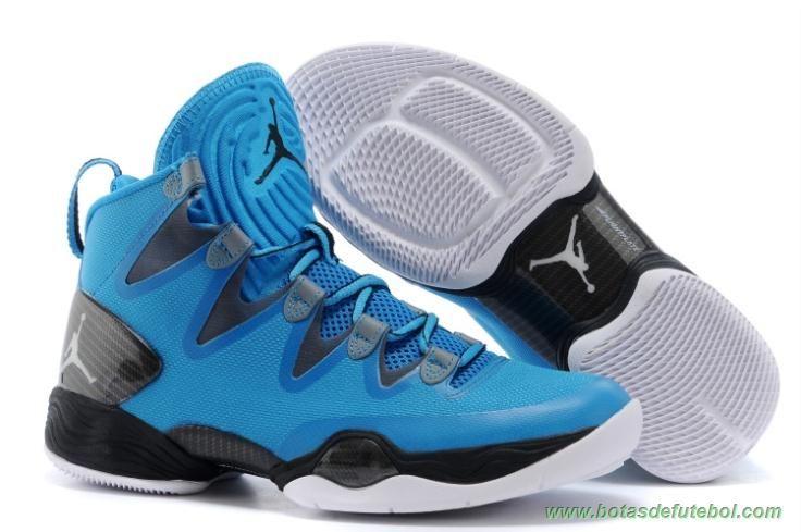 chuteiras profissionais baratas Masculino Azul Air Jordan XX8 SE