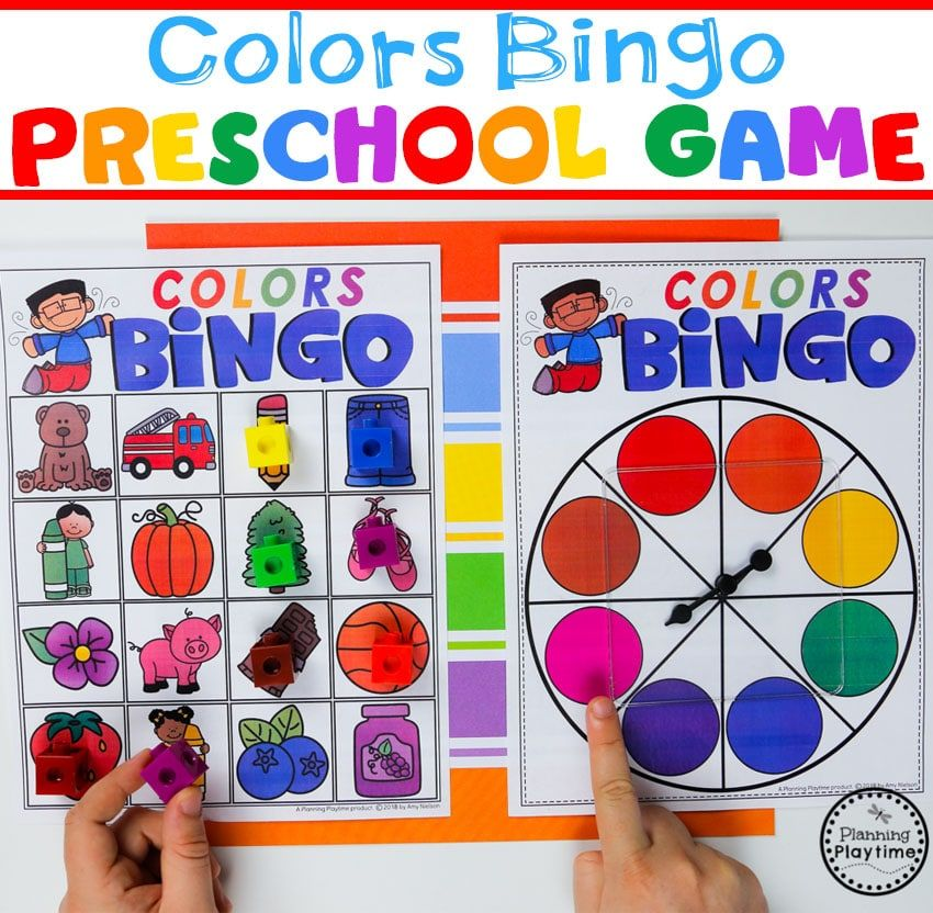 Color Worksheets Planning Playtime Learning Colors Preschool Preschool Color Activities Preschool Colors
