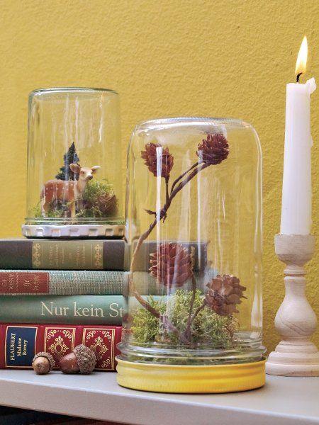 Tischdeko Alpenlook Herbst Pinterest Tischdeko, Herbstdeko - moderner alpenlook schlafzimmer ideen