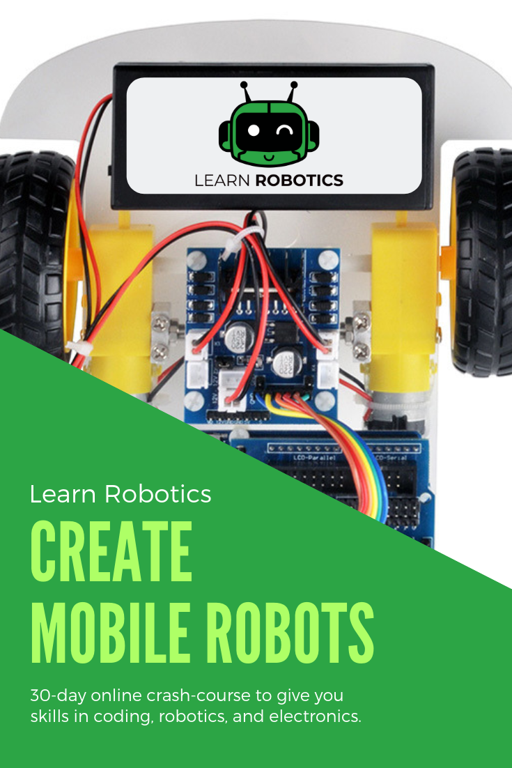 Learn Robotics Online Course For Beginners At Home Learning Learn Robotics Arduino Robot Arduino