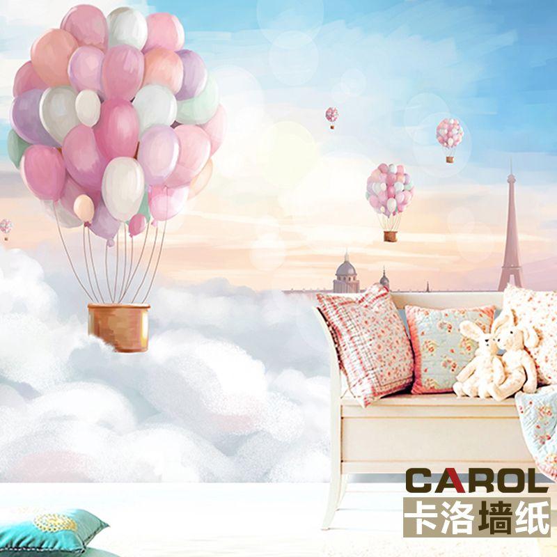 Günstige Fantasie ballon tapete kinderzimmer schlafzimmer - tapete für schlafzimmer