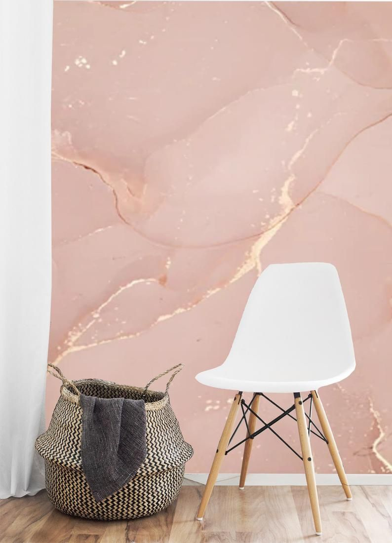 Peel And Stick Marble Pink Gold Wallpaper Mural Marble Self Adhesive Abstract Wall Mural Accent Wall Removable Marbled Wall Paper Wall Decal Pink And Gold Wallpaper Pink Accent Walls Pink Marble