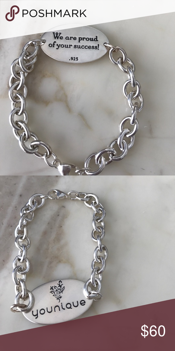Younique Silver Bracelet Never worn brand new, 100% silver younique Jewelry Bracelets