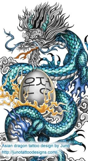Korean Dragon Tattoo Meaning: Meaning & How To Create Yours