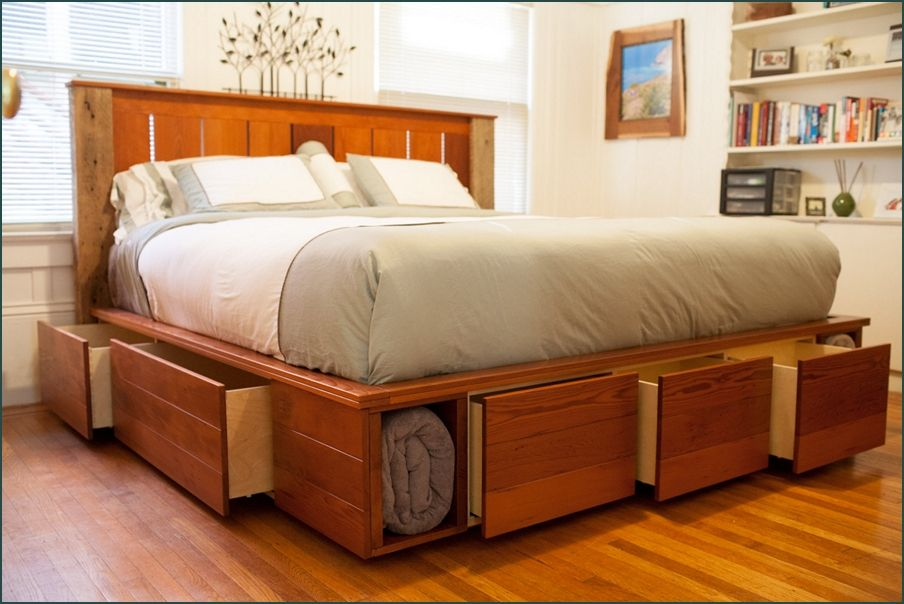 King Size Captains Bed With 12 Drawers Jpg 904 604 Stylish Bedroom Furniture Queen Size Storage Bed Bed Designs With Storage