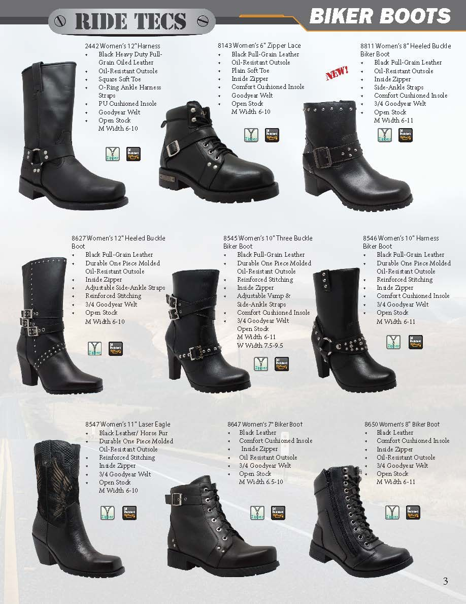 2fbba4a873224 We carry Ride Tecs from Hypard Biker Boots. Check out the Styles ...